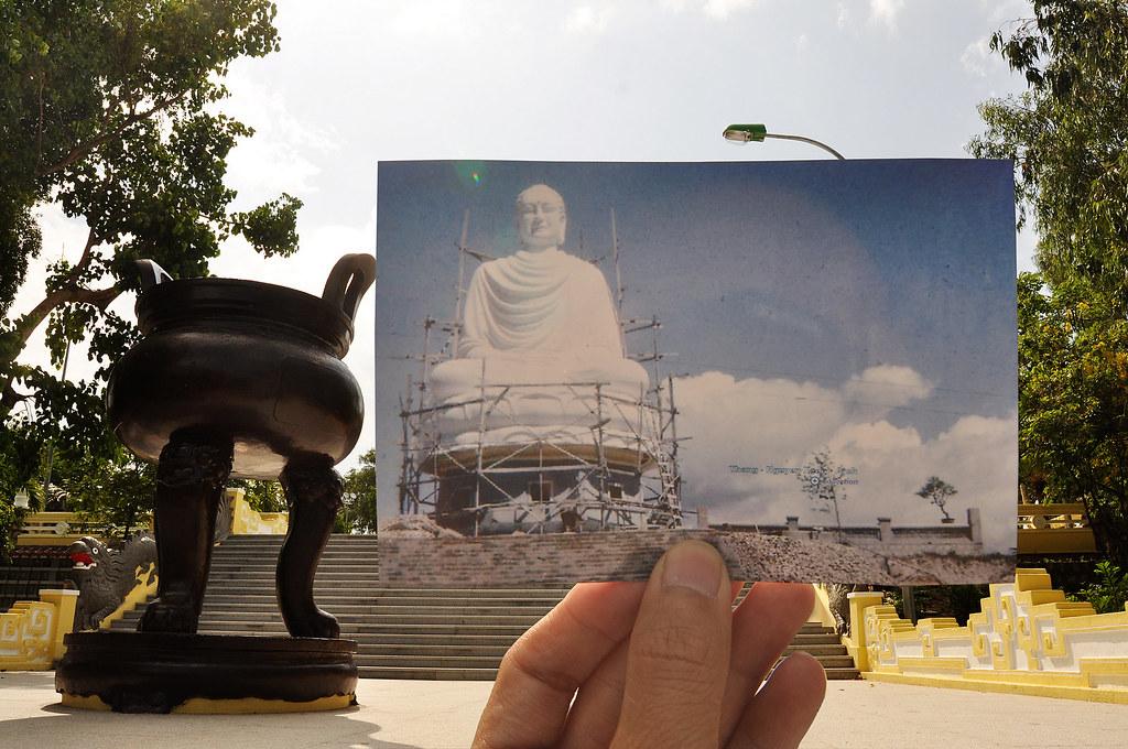 Tượng Phật trắng, Nha Trang 9-1966