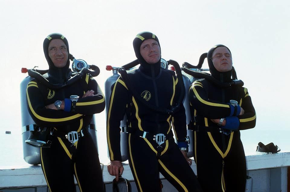 Join scuba gear fetish