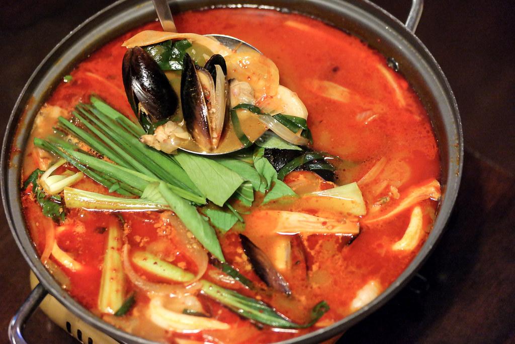 Dal-In Korean Restaurant's Seafood Jjamppong Tang