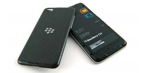 BlackBerry reached a milestone in its recovery efforts