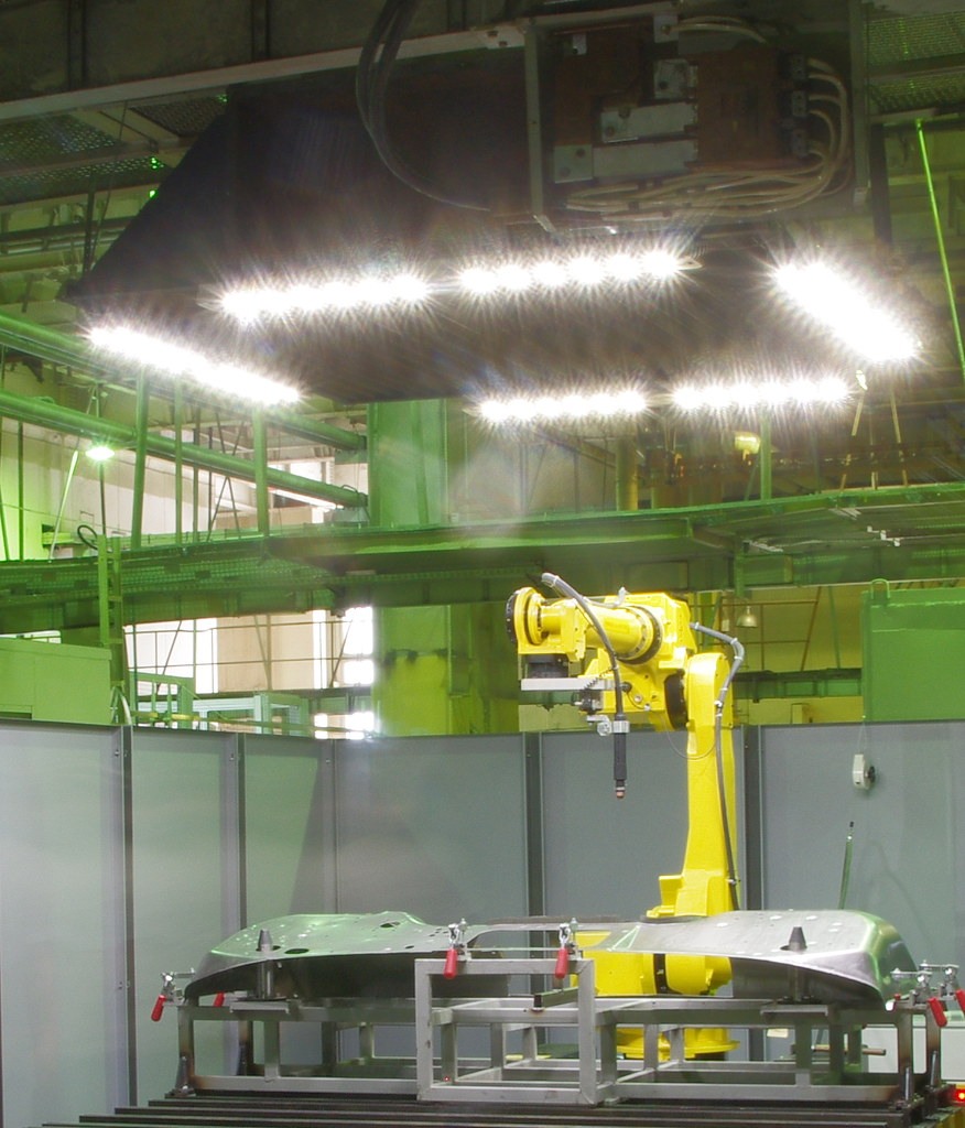 Робот плазменной резки