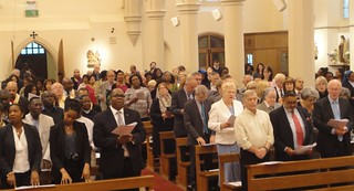 140711 - Retirement of Headteacher - St Mary - West Croydon