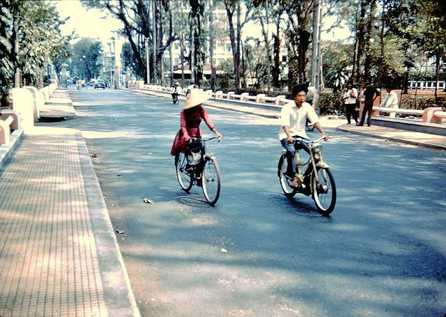 SAIGON 1966 - Truong Cong Dinh Street