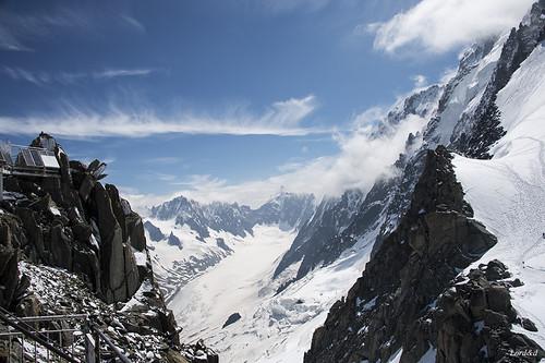 Les grands montets ( Chamonix )