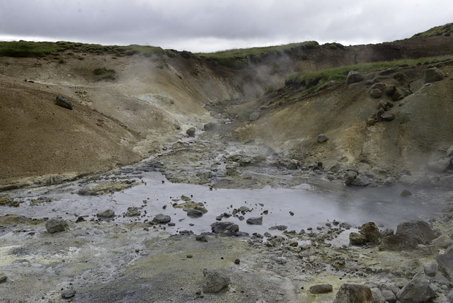 Press Bus Tour: Krýsuvík Geothermal Pools