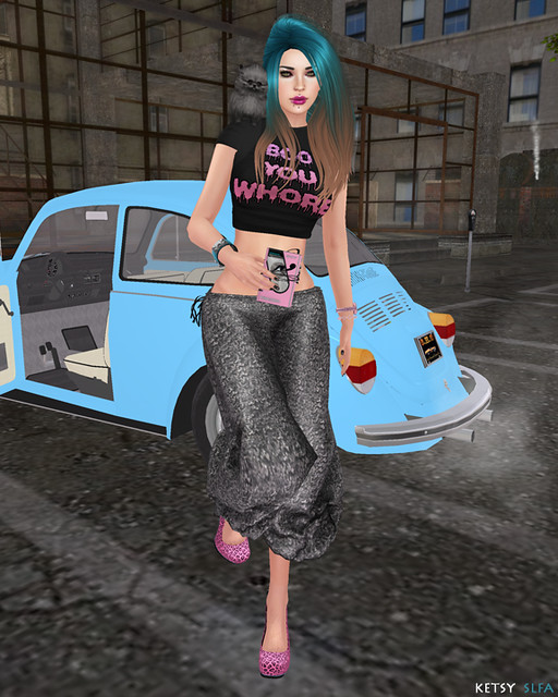 Hair Fair - A Bolt From The Blue (New Post @ Second Life Fashion Addict)