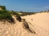 Sleeping bear dunes - top of dune climb