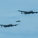Two Avro Lancaster's in the air over Eastbourne