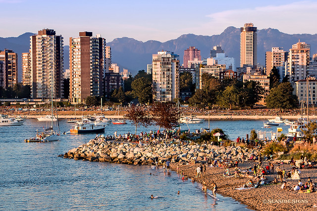 Summertime Sunset ~ Vancouver, BC