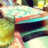 Scrabble with modified Slingers made #templetonrye #templeton #rye #gamenight #games #gaming #scrabble #cocktail