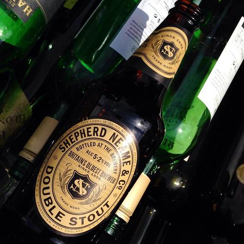 Mmm, stout.  Shepherd Neame. Double Stout.