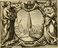 """Image from page 36 of """"Simboli predicabili : estratti da sacri evangeli che corrono nella quadragesima : delineati con morali, & eruditi discorsi"""" (1692)"""