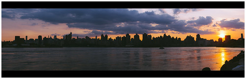new york nyc sunset sky panorama sun building water skyline clouds canon photography 50mm state mark panoramic ii empire 5d markii unger khale