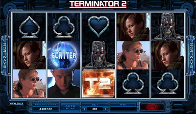 Terminator 2 slot game online review