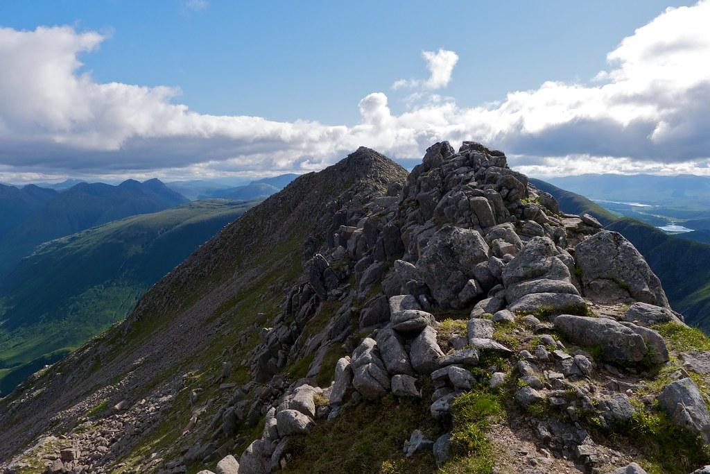 Ben Starav east ridge pinnacles
