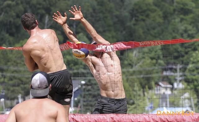 Men Open Beach Volleyball - Dozois, Québec, Canada