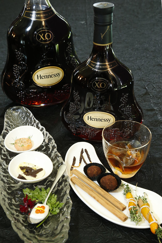 Classic & Contemporary Food & Ingredients Pairing with Hennessy X.O