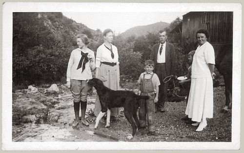 Group with Dog and Horse.