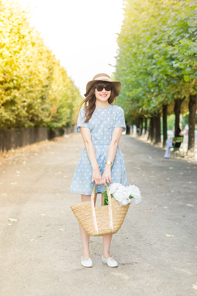 Parisienne au jardin des tuileries mode and the city for Au jardin des tuileries