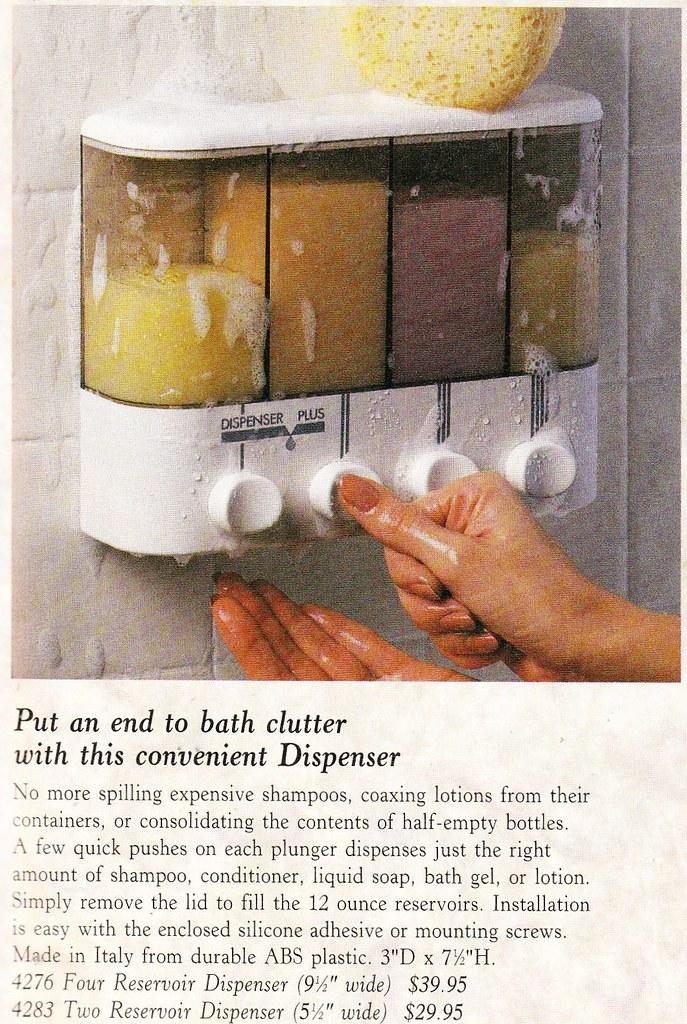 shampoo dispenser