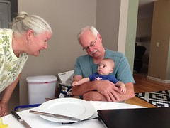 07.31.2014 :: hangin' with his grandparents