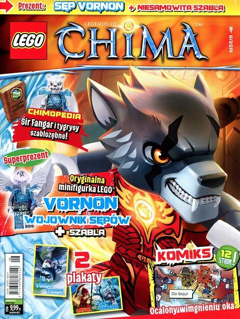 LEGO Legends of Chima Oficjalny Magazyn 2014-08 01