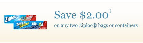 graphic regarding Ziploc Printable Coupons referred to as $2/2 Ziploc Luggage or Packing containers Printable Coupon and Meijer