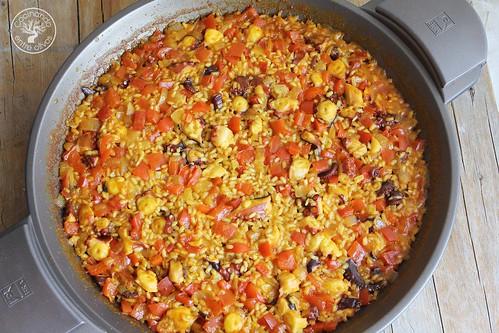 Arroz con pulpo www.cocinandoentreolivos.com (2)
