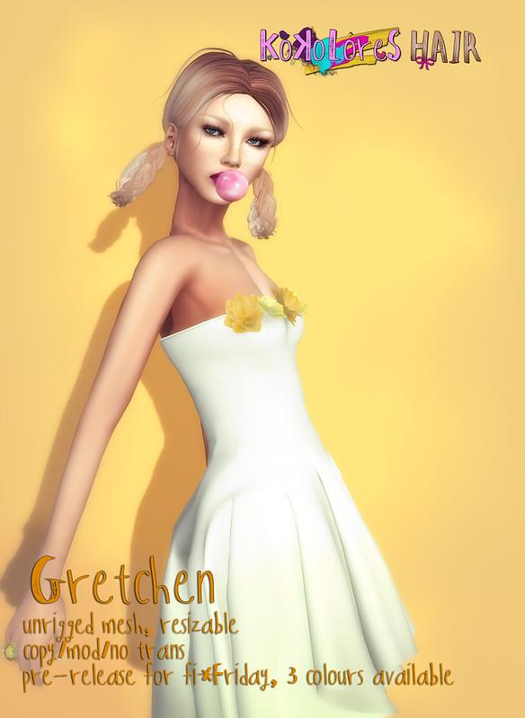 [KoKoLoReS] Hair - Gretchen