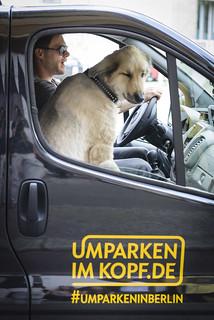 Ken Duken beim #UmparkeninBerlin