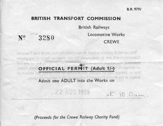 Train Spotting - 1959 Permit To Paradise