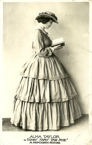 Alma Taylor in Coming Thro' the Rye