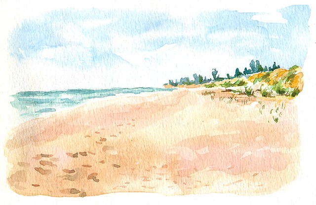 ludington watercolor