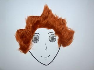 Furry hair