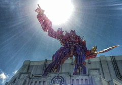 Transformers Universal Studios Orlando Sun at Transformers: The Ride - 3D