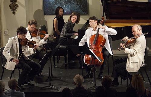 Dvorak quintet