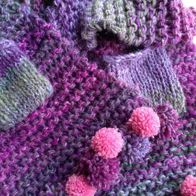 Noro Pompom scarf