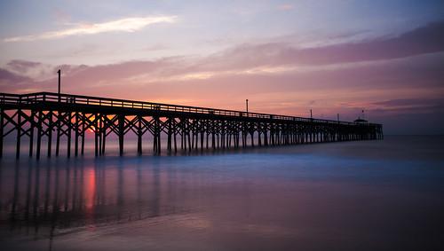 sunrise unitedstates jetty southcarolina canonef1740mmf4lusm pawleysisland canon5dmarkii shannoncayze pawleysislandpier lee10stopbigstopper singhraydarylbenson3stopreversegnd