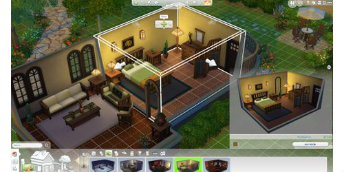 The Sims 4: Create A Style, Choose A House & Buy/Build Mode