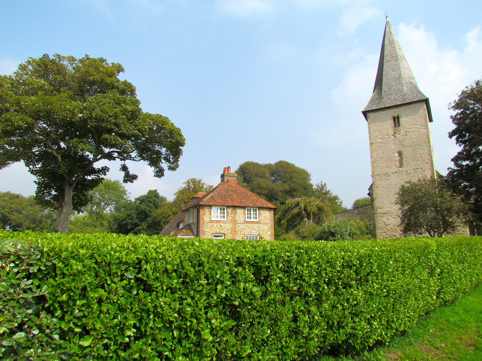 photo from walk Bosham church