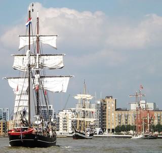 Jantje (5) @ River Thames 09-09-14