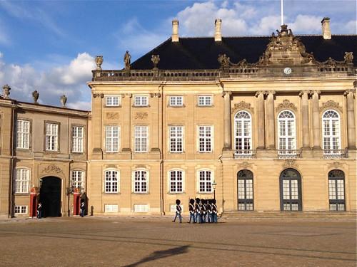 Copenhagen, Amalienborg Slot