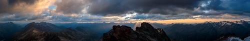 alps berg sunrise wolken alpen sonnenaufgang ötztal dolomiten