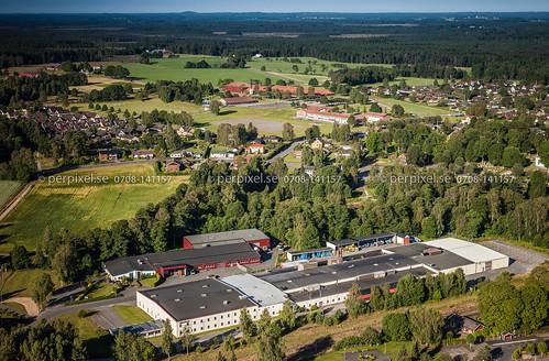 sverige jönköping swe flygfoto forsheda finnvedenmetal