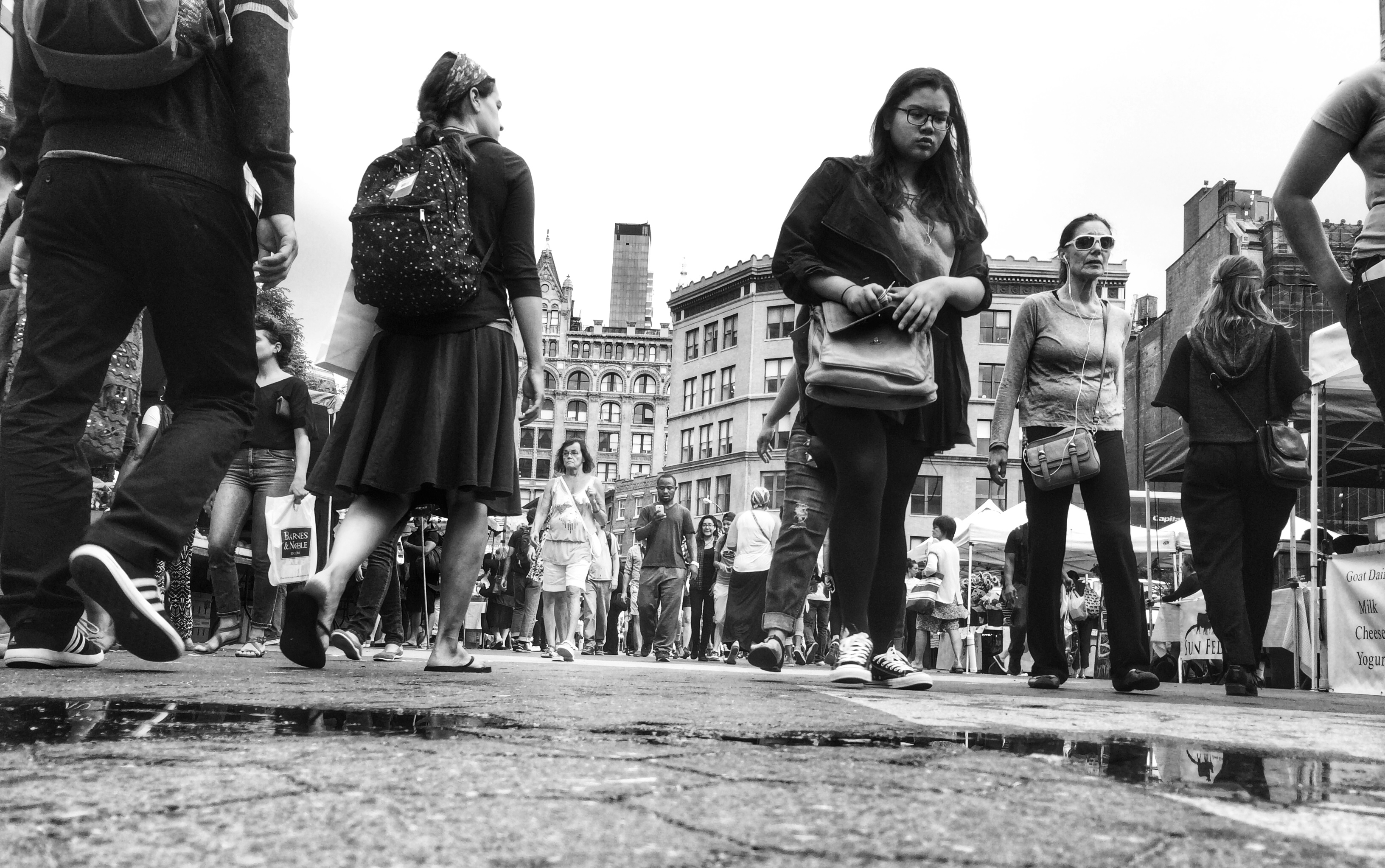 Union Square-New York City #StreetPhotography