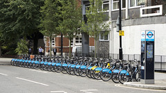 Barclays Cycle Hire Docking Station, London
