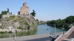Kościół Metechi z XIII wieku, Tbilisi.