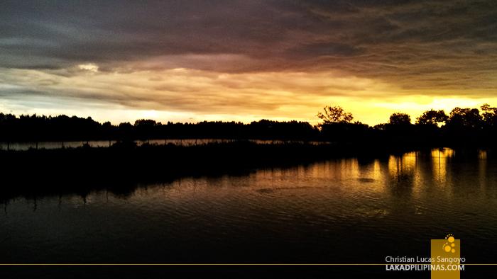 Sunset at ATC Ihawan in Dagupan