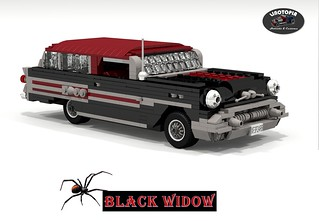 Linotopia - Black Widow - 1957 Pontiac Safari