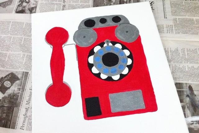 Phone painting